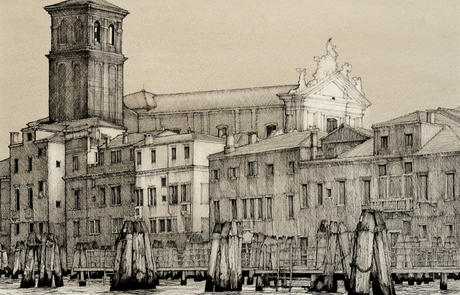 The Baroque Church commonly known as Gesuiti was is said to be the work of Giovanni Battista Fattoretto, probably to a design by Domenico Rossi and was constructed on the orders of the aristocratic Manin family between 1715 and 1730.